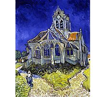 Vincent Van Gogh The Church in Auvers Photographic Print