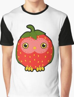 Strawberry owl Graphic T-Shirt