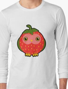 Strawberry owl Long Sleeve T-Shirt