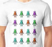 Bitmap Robots Unisex T-Shirt