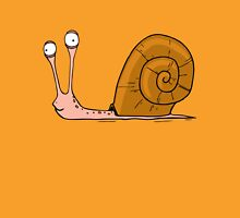 Funny snail with silly face expression Unisex T-Shirt