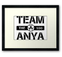 Team Anya Framed Print
