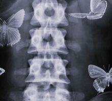 Conceptual Butterflies Sticker