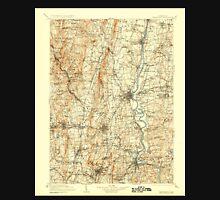 USGS TOPO Map Connecticut CT Farmington 331214 1906 125000 Unisex T-Shirt