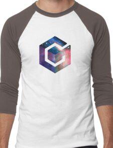 Galaxy GameCube Logo Men's Baseball ¾ T-Shirt