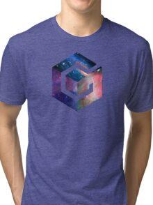 Galaxy GameCube Logo Tri-blend T-Shirt