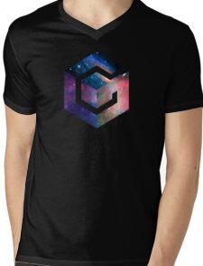 Galaxy GameCube Logo Mens V-Neck T-Shirt