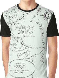 Go To Narnia Map Graphic T-Shirt