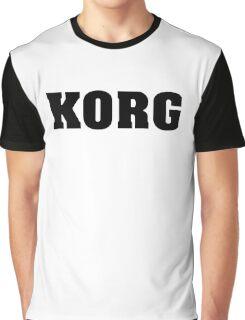 Black Korg Graphic T-Shirt