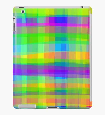 Psychedelic Fabric Texture Pattern iPad Case/Skin
