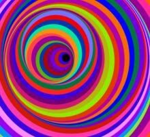 Hypnotic Psychedelic Vertigo Hole Sticker