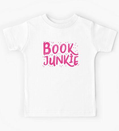 Book Junkie Kids Tee