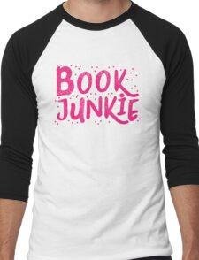 Book Junkie Men's Baseball ¾ T-Shirt