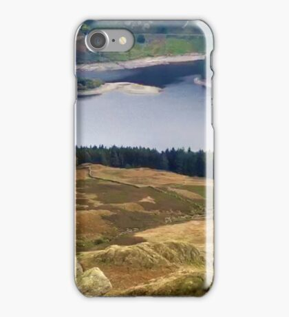 Haweswater Reservoir, in the Lake District, UK iPhone Case/Skin
