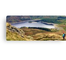 Haweswater Reservoir, in the Lake District, UK Canvas Print