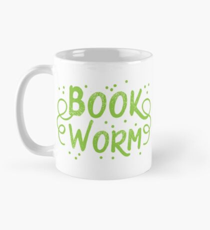 Book worm (in words) Mug