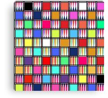 Pastel Expressions Canvas Print