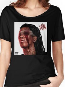YOUNG THUG - SLIM SEASON 3 [4K] [HIGH QUALITY] Women's Relaxed Fit T-Shirt