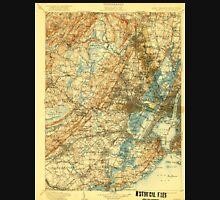 USGS TOPO Map New Jersey NJ Passaic 255445 1905 125000 Unisex T-Shirt