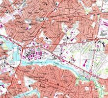 USGS TOPO Map New Jersey NJ Camden 254239 1967 24000 Sticker