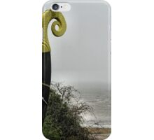 Viking ship sailing into the mist iPhone Case/Skin