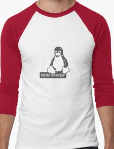 Linux Kernel Developer Men's Baseball ¾ T-Shirt