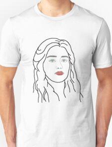 Emilia Clarke - sketch  T-Shirt