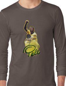Pele World Cup Brazil Long Sleeve T-Shirt