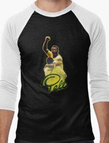 Pele World Cup Brazil Men's Baseball ¾ T-Shirt