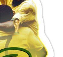 Pele World Cup Brazil Sticker