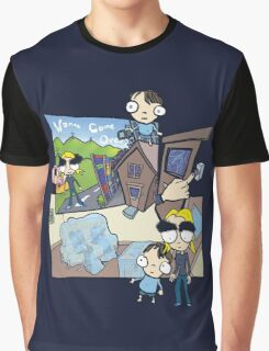 Esmeralda & the Boy Next Door Graphic T-Shirt