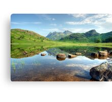 Blea Tarn in July Canvas Print