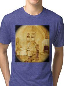 A Room In The Inn Tri-blend T-Shirt