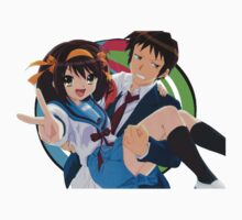 The Melancholy of Haruhi Suzumiya - SOS Brigade Kids Tee