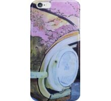 rusty car. iPhone Case/Skin