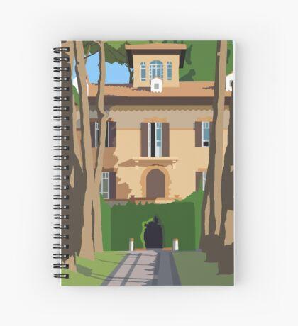 Marymount Rome Villa Spiral Notebook