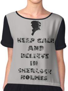 SherlockHolmes 0003 Chiffon Top
