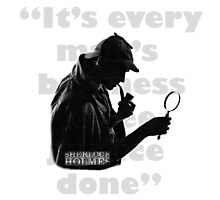 SherlockHolmes 0005 Photographic Print