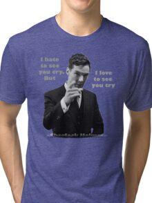 SherlockHolmes 0006 Tri-blend T-Shirt