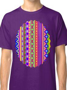 Aztec Psychedelic Chevron Pattern Classic T-Shirt
