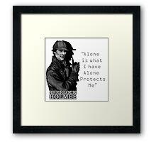SherlockHolmes 0007 Framed Print