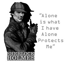 SherlockHolmes 0007 Photographic Print