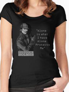 SherlockHolmes 0007 Women's Fitted Scoop T-Shirt