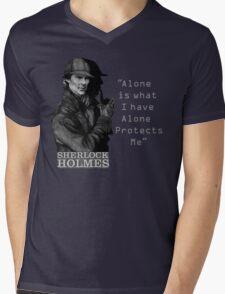 SherlockHolmes 0007 Mens V-Neck T-Shirt