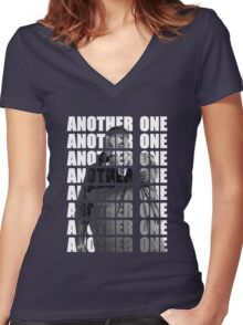 Another One (DJ Khaled) Women's Fitted V-Neck T-Shirt