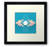 Isometric abstraction Framed Print