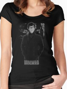 SherlockHolmes 0009 Women's Fitted Scoop T-Shirt