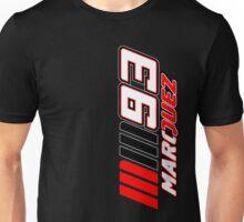 Marc Marquez MM93 with name motogp rider Unisex T-Shirt
