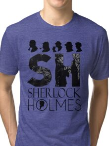 SherlockHolmes 0010 Tri-blend T-Shirt