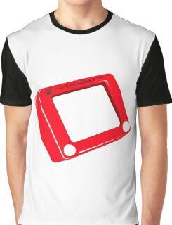 Etch a Sketch Graphic T-Shirt